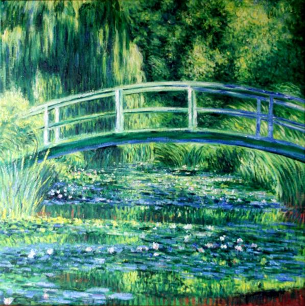 Monet lo stagno delle ninfee armonia in verde poetarum silva - Giardino delle ninfee ...