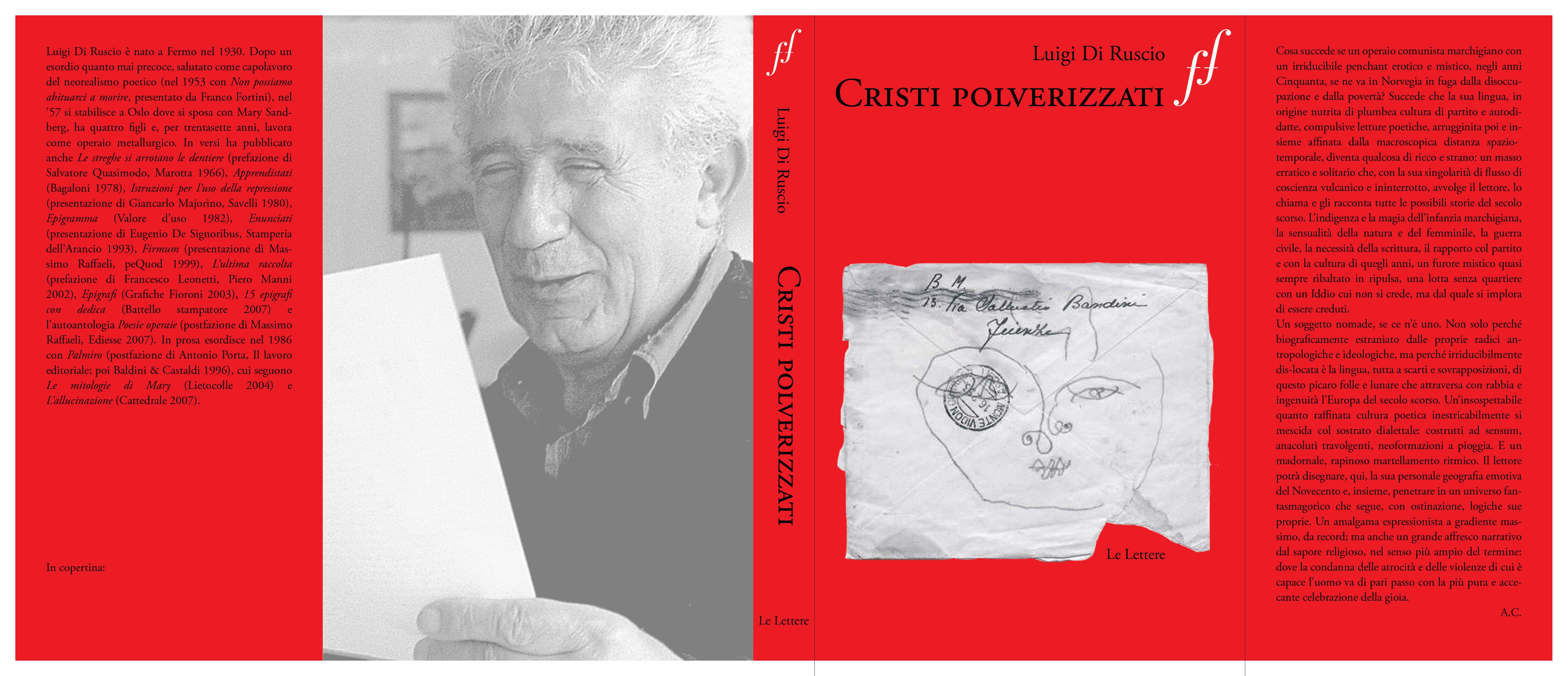 Cristi polverizzati – Luigi Di Ruscio – ed Le lettere pp 105 106 e 187 post di Natlia Castaldi