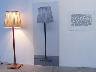Joseph Kosuth - light