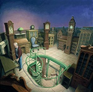 Rob Gonsalves, Time pieces, © 1999 - 2012.  Discovery Galleries, LTD.  All Rights Reserved.