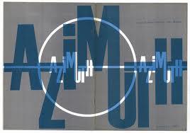 copertina del primo numero di Azimuth