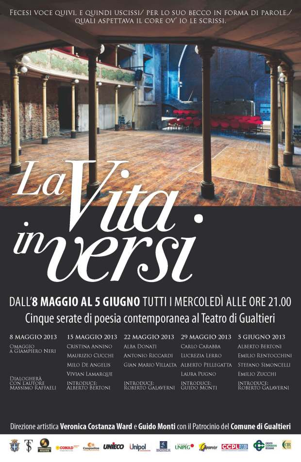 rassegna poesia teatro sociale di Gualtieri