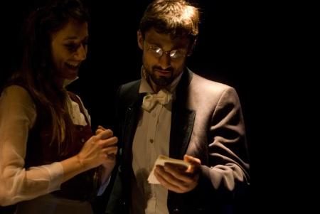 Sofia Pulvirenti e Enoch Marrella in Nottibianche