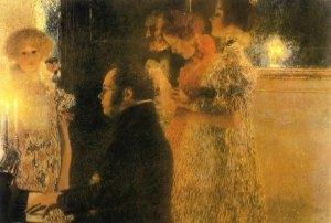 C. G. Klimt - Schubert al pianoforte
