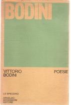 """Vittorio Bodini, Poesie, Mondadori """"Lo Specchio"""" 1972"""