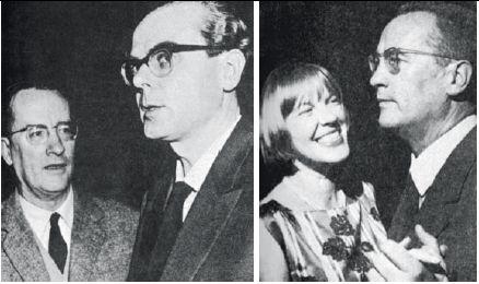 Premio Fontane, 1964. Alfred Andersch e Arno Schmidt. Ingeborg Bachmann e Alfred Andersch
