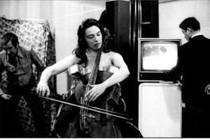 Antonio D'Agostino, Back-Stage, Charlotte Moorman e Nam June Paik, 1974