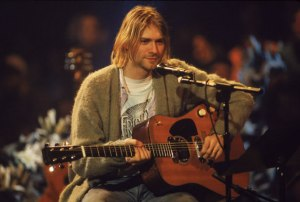 Kurt Cobain On 'MTV Unplugged' - @Frank Micelotta/Getty Images)