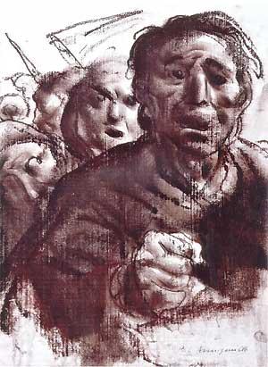 """Pietro Annigoni, """"Su 'Libertà' di GIovanni Verga"""""""
