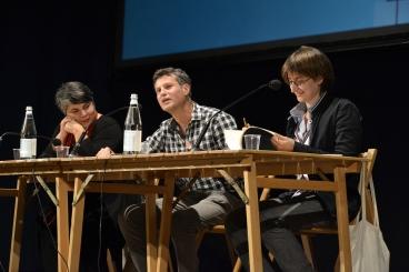 """© Festivaletteratura - Michela Murgia, Stefano Jossa e Chiara Valerio a """"Il ritorno dell'eroe"""""""