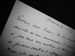 lettera Luzi