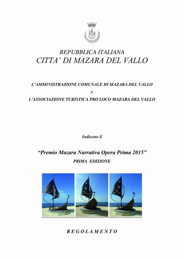 II Regolamento PREMIO LETTERARIO(1) (1)_Pagina_1 (1)