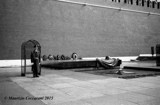 Mosca - Giardino di Alessandro - Tomba del Milite Ignoto. Foto di Maurizio Ceccarani