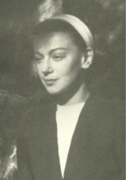 Cristina Campo in una fotografia giovanile