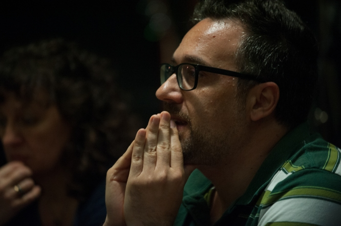 """Andrea Pomella al """"Villaggio Cultura - Pentatonic"""" il 14 giugno 2015 - Foto di Spartaco Coletta"""