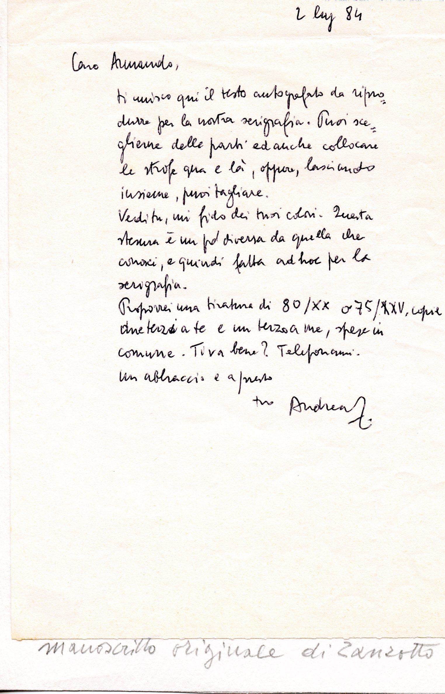 Eccezionale Pizzinato e la poesia di Zanzotto. Di Silvana Tamiozzo Goldmann  AH36