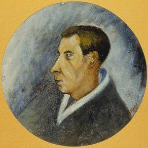 Ottone Rosai, ritratto di Mario Luzi (Archivio Vieusseux)