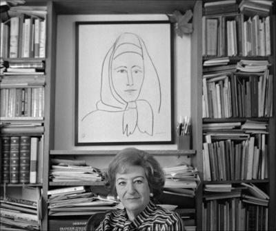 Maria Luisa Spaziani (foto di Dino Ignani)
