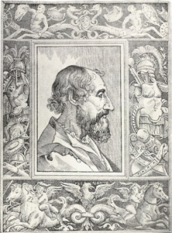 Ariosto (nel frontespizio del Furioso 1532)