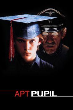 """Locandina di """"Apt Pupil, film del 1998 di Bryan Singer tratto da """"Un ragazzo sveglio"""" di Stephen King"""