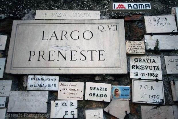 Largo Preneste, Roma, foto di Chiara Tripaldi