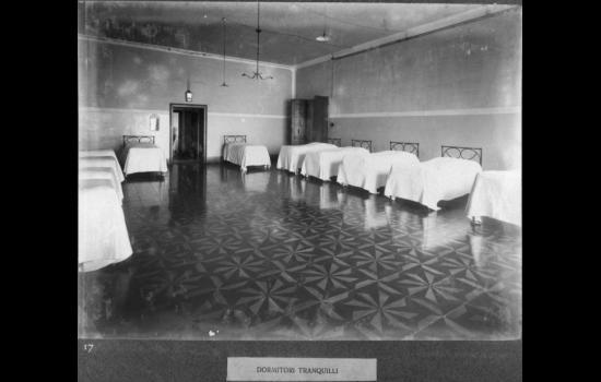 L'ospedale di San Servolo. Foto tratta dall'Archivio di Stato di Venezia