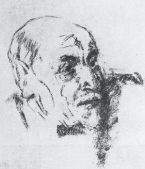 Fausto Pirandello, Ritratto di Luigi Pirandello (1936)