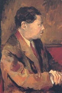 Renato Gottuso, Ritratto di Eugenio Montale (1939)