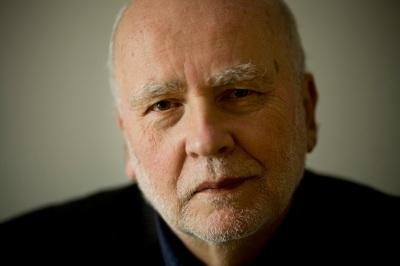 Adam Zagajewski, photo by Krzysztof Dubiel for the Polish Book Institute