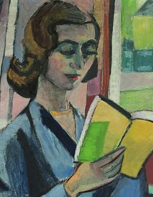 Piera Badoni (Christa Moering, olio su tela, 1955; collezione privata)