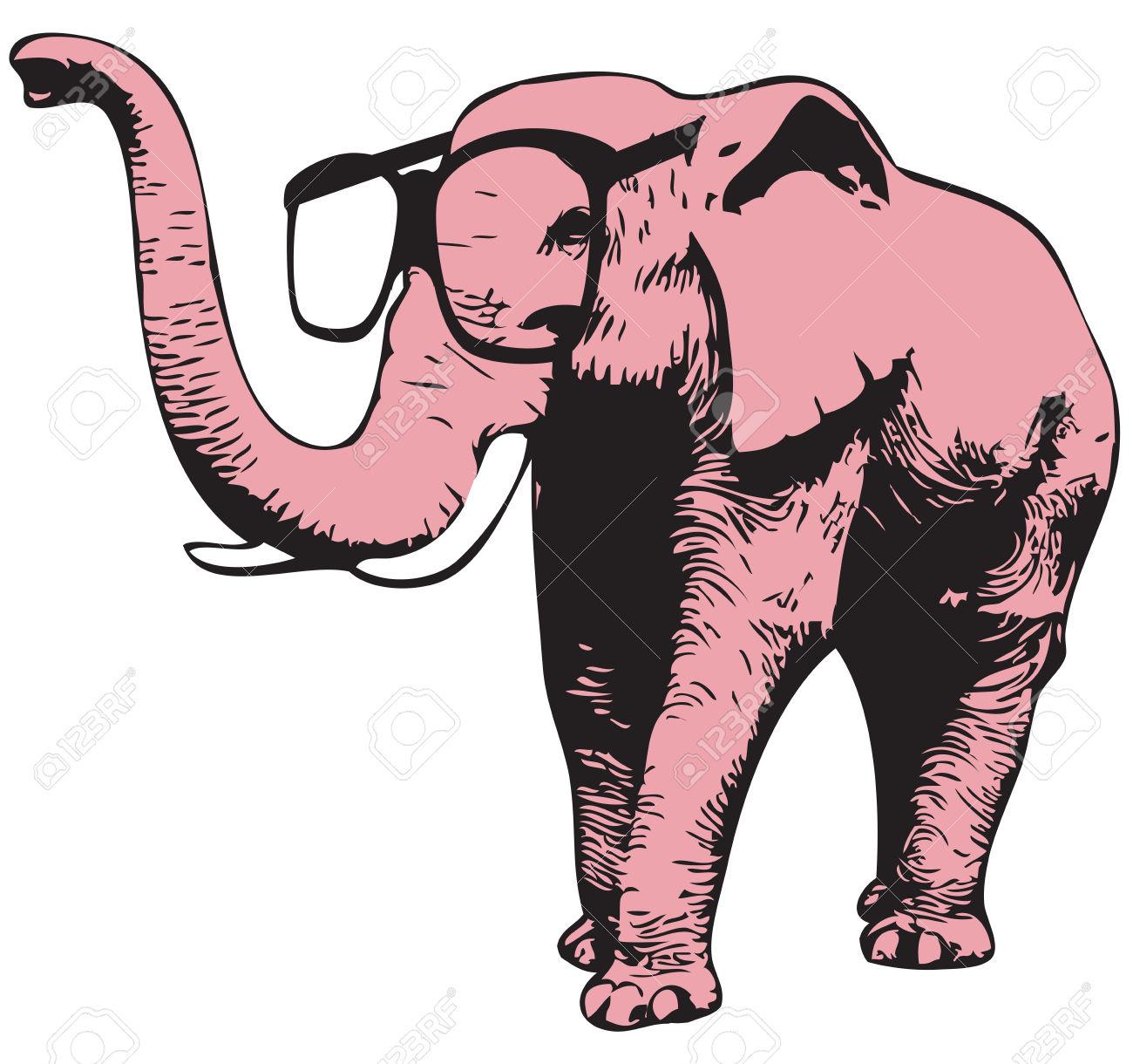 Daniela scuncia il caso dell elefante rosa poetarum silva - Elefante foglio di colore dell elefante ...