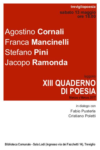 TRP 2016 - Cartolina Quaderni