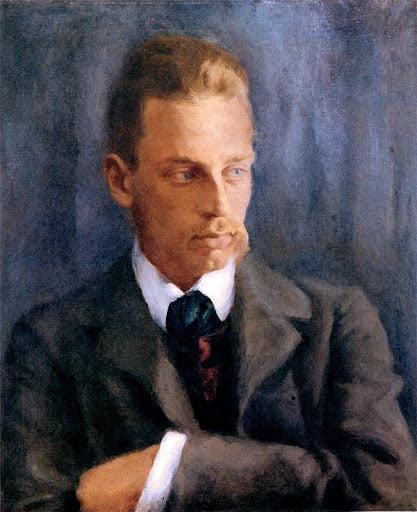 Rilke (ritratto da Helmuth Westhoff)